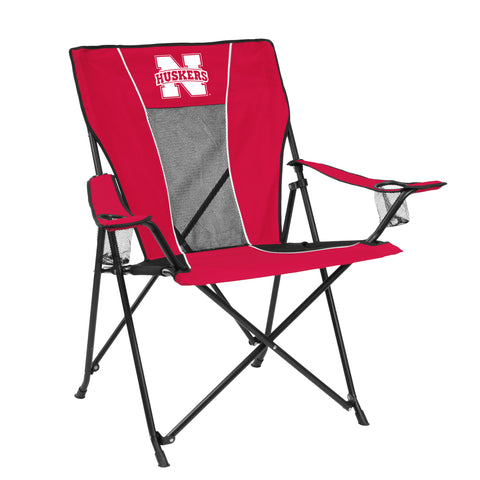 Nebraska Cornhuskers Game Time Chair - Logo Brands 182-10G