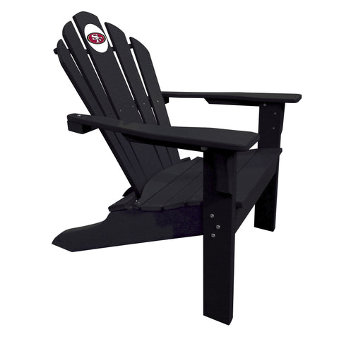 The San Francisco 49Ers Black Big Daddy Adirondack Chair - Imperial USA Imp  182-1105