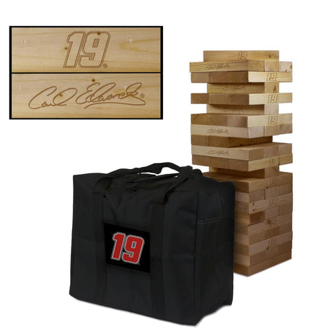 NASCAR #19 Carl Edwards Giant Jenga Tumble Tower Game
