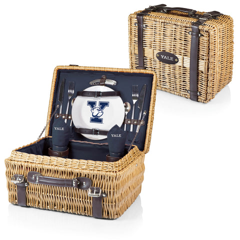 Yale Bulldogs Champion Picnic Basket