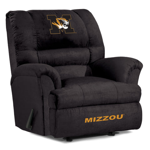 The Mizzou Tigers Big Daddy Microfiber Recliiner - Imperial USA IMP 340-3019 Man Cave Recliner