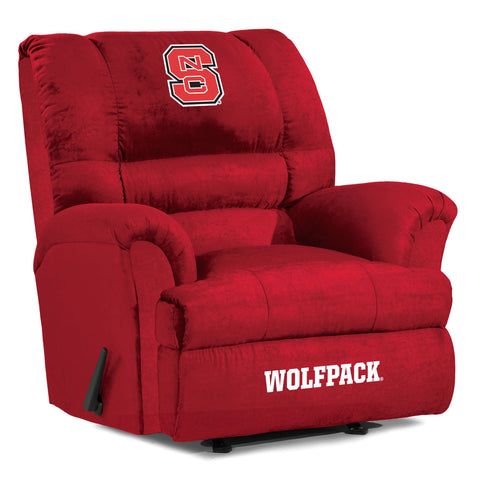 The NC State Wolfpack Big Daddy Microfiber Recliiner - Imperial USA IMP 340-3025 Man Cave Recliner