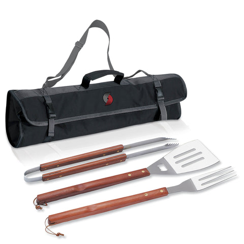 3pc BBQ Tote - Portland Trailblazers