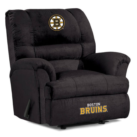 Boston Bruins Big Daddy Reclining Chair for Mans Caves and fan recliners