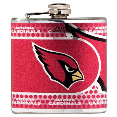 The Arizona Cardinal Stainless Steel drinking flask for NFL Cardinals fans