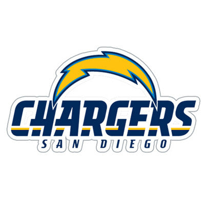 San Diego Charger Die Cut Perforated Window Decal Film in Chargers fan gear
