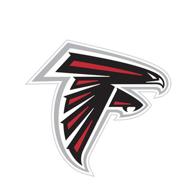 Atlanta Falcon Die Cut Perforated Window Decal Film in Falcons fan gear
