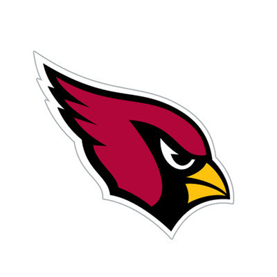 Arizona Cardinal Die Cut Perforated Window Decal Film in Cardinals fan gear