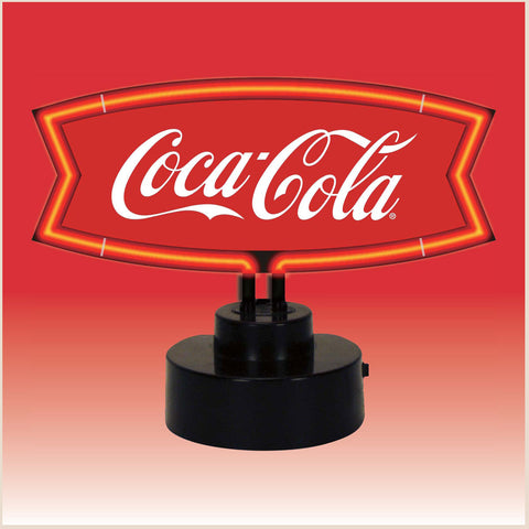 Neonectics 4CCRWF - The Coca-Cola Red & White Fishtail Neon Sculpture
