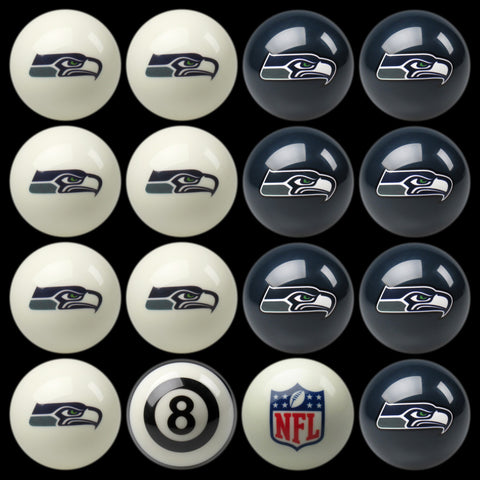 Seattle Seahawks Pools Balls Billiard for Pooling and balling hitting