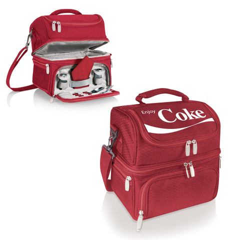 The Coca Cola Pranzo Personal Lunch Box Cooler  - Picnic Time 512-80-100-911-0