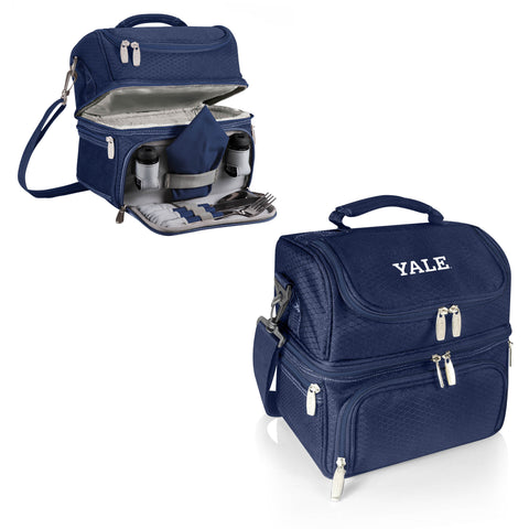 The Yale Bulldogs Pranzo Lunch Box Cooler - Picnic Time 512-80-138-054-1