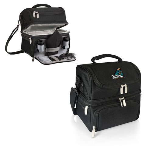 The Coastal Carolina Chanticleers Pranzo Lunch Box Cooler - Picnic Time 512-80-175-734-0