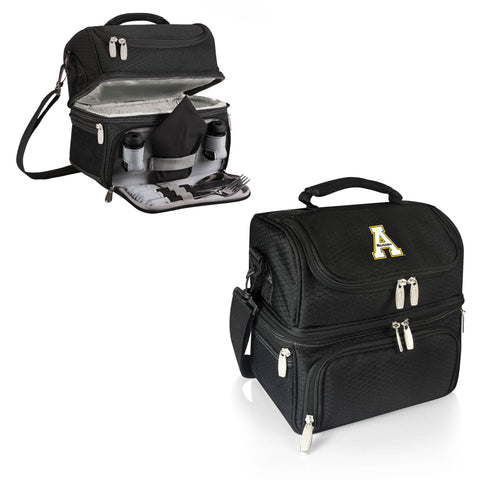 The Appalachian State Mountaineers Pranzo Lunch Box Cooler - Picnic Time 512-80-175-794-0