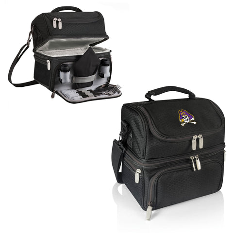 The East Carolina Pirates Pranzo Lunch Box Cooler - Picnic Time 512-80-175-874-0