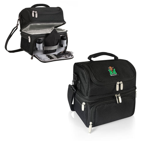 The Marshall Thundering Herd Pranzo Lunch Box Cooler - Picnic Time 512-80-175-894-0