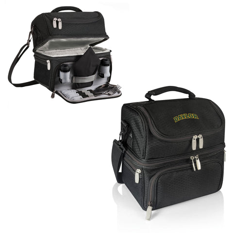 The Baylor Bears Pranzo Lunch Box Cooler - Picnic Time 512-80-175-924-0