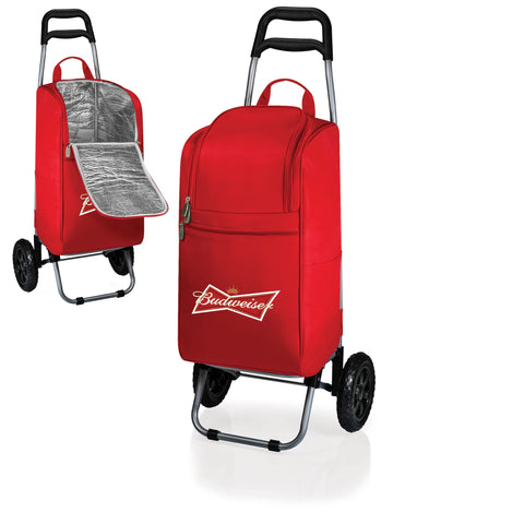 Cooler Cart wheeled cooling keep beer cool - Budweiser