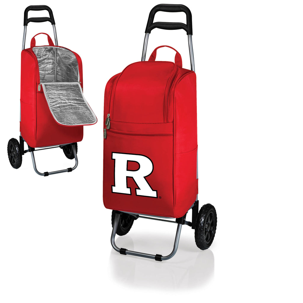 The Rutgers  Scarlet Knights Cart Cooler - Picnic Time 545-00-100-084-1