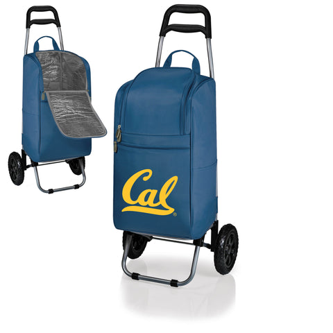 The California Berkeley Golden Bears Cart Cooler - Picnic Time 545-00-138-074-0