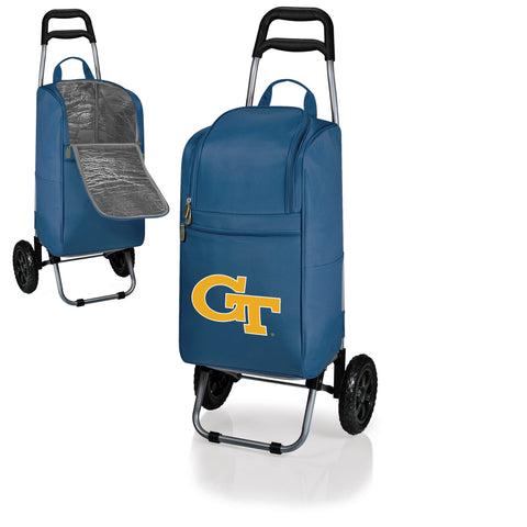 The Georgia Tech Yellow Jackets Cart Cooler - Picnic Time 545-00-138-194-0