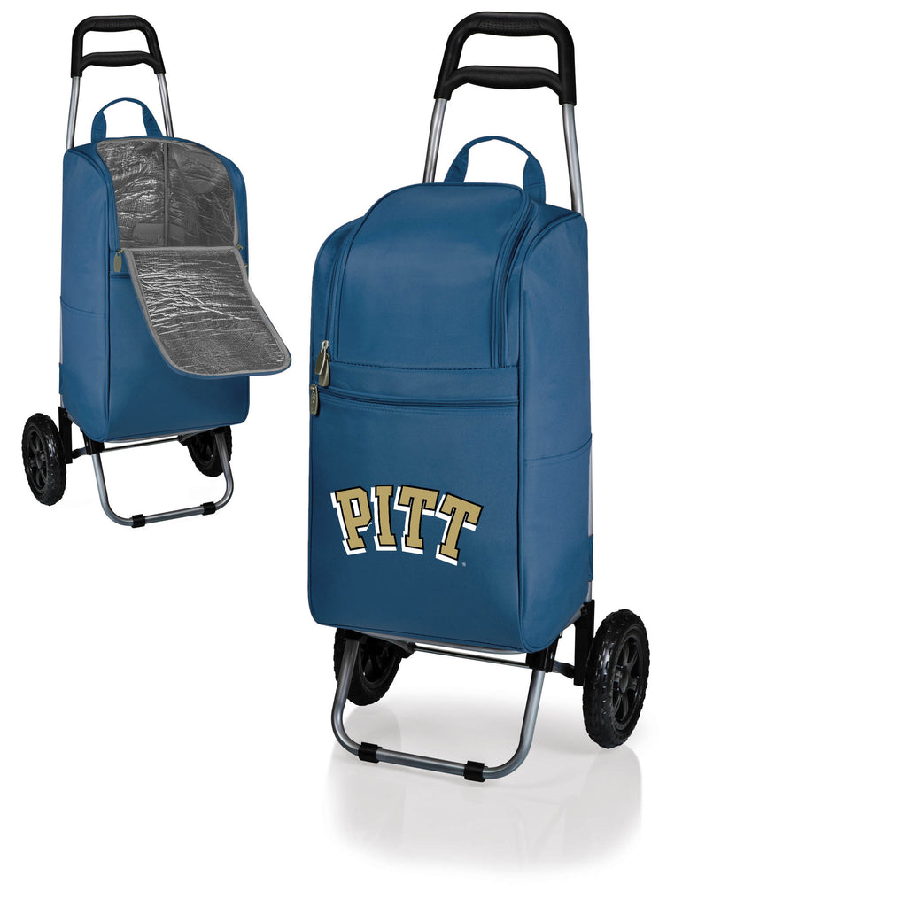 The Pittsburgh Panthers Cart Cooler - Picnic Time 545-00-138-504-0
