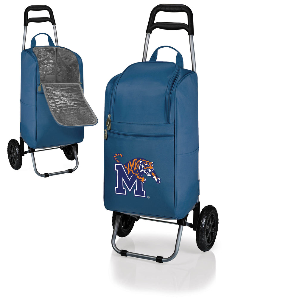 The Memphis Tigers Cart Cooler - Picnic Time 545-00-138-754-0