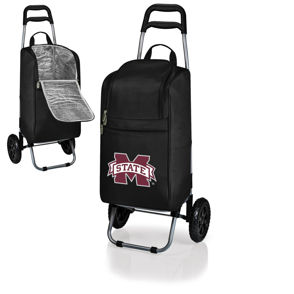 The Mississippi State  Bulldogs Cart Cooler - Picnic Time 545-00-175-384-0