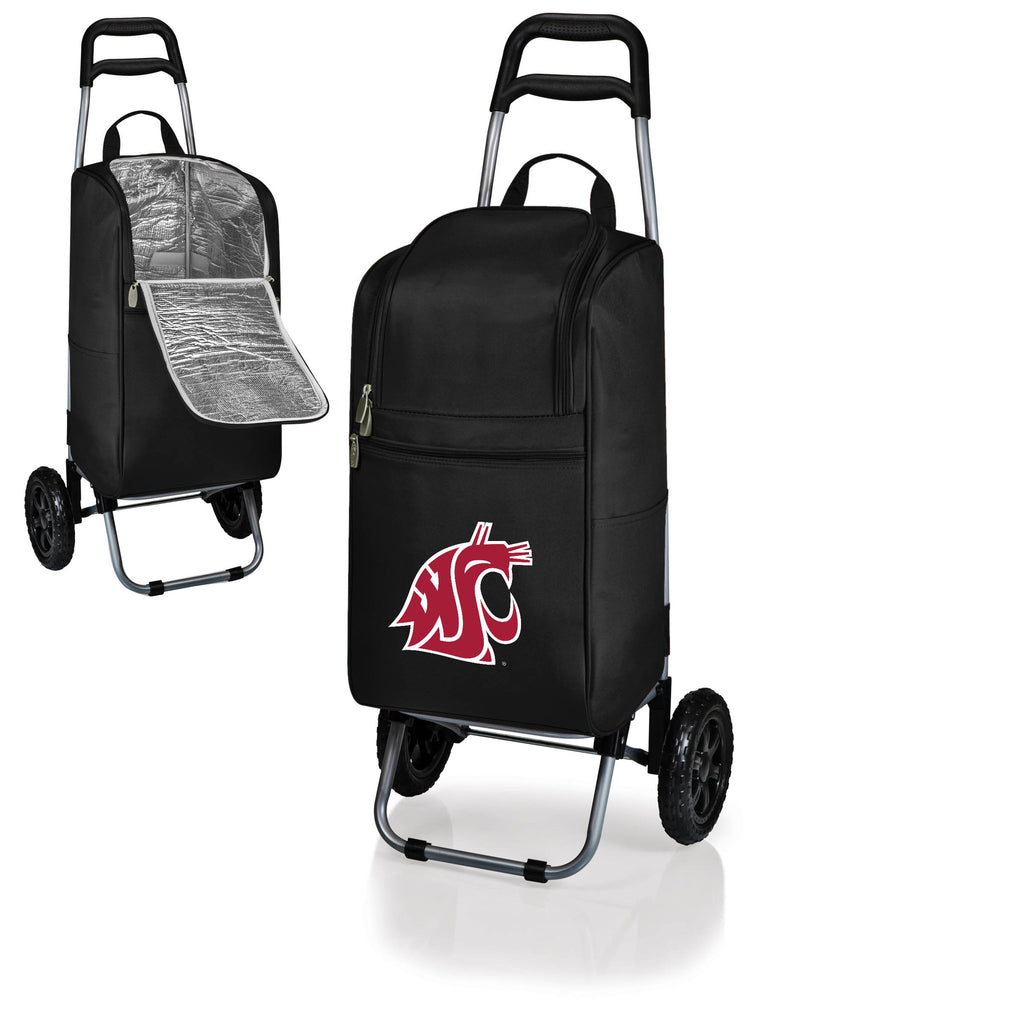The Washington State  Cougars Cart Cooler - Picnic Time 545-00-175-634-0