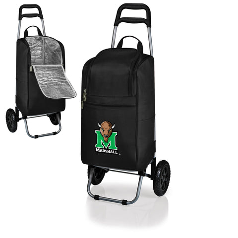 The Marshall  Thundering Herd Cart Cooler - Picnic Time 545-00-175-894-0