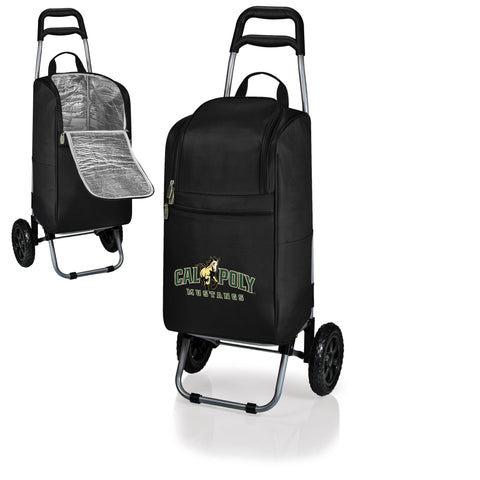 The Cal Poly Mustangs Cart Cooler - Picnic Time 545-00-175-904-0