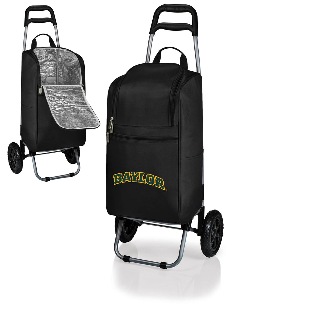 The Baylor  Bears Cart Cooler - Picnic Time 545-00-175-924-0