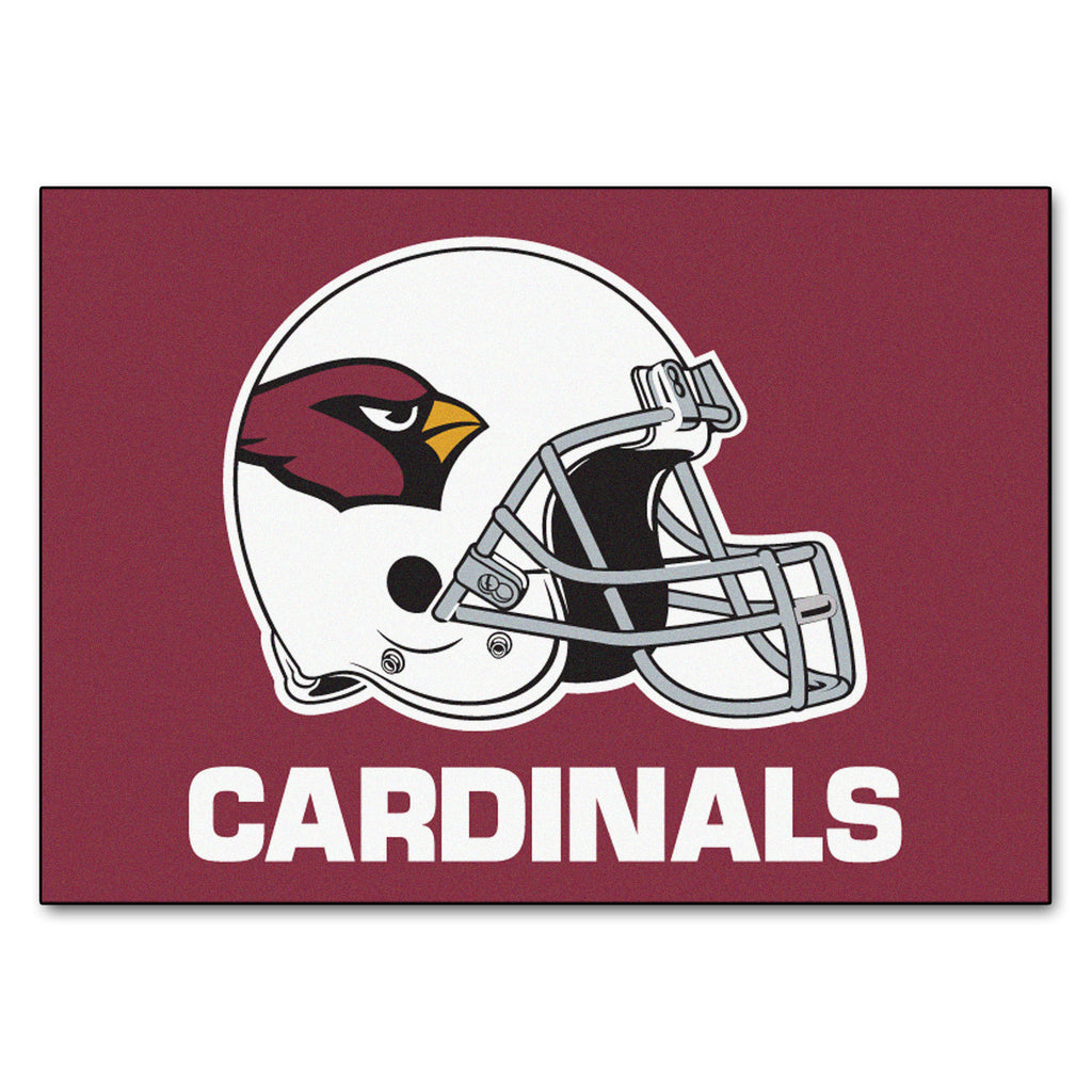 Cardinals All-Star Mat for Arizona Cardinal NFL Football Fans