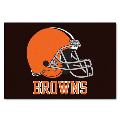 Browns All-Star Mat for Cleveland Brown NFL Football Fans