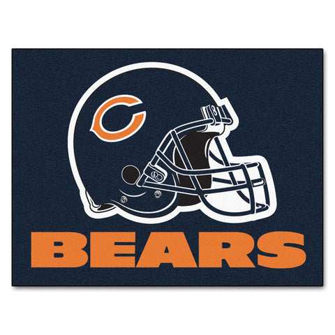 Bears All-Star Mat for Chicago Bear NFL Football Fans