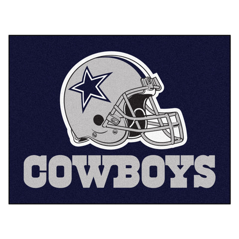 Cowboys All-Star Mat for Dallas Cowboy NFL Football Fans