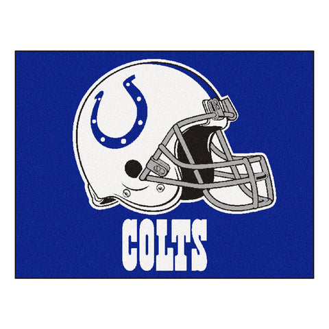 Colts All-Star Mat for Indianapolis Colt NFL Football Fans
