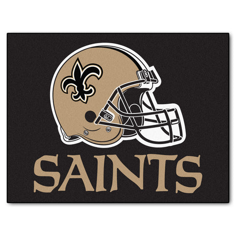 Saints All-Star Mat for New Orleans Saint NFL Football Fans