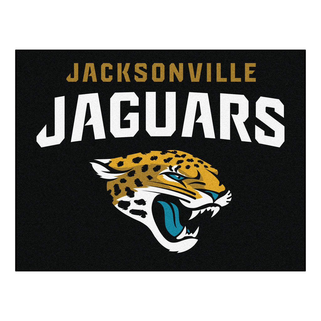 Jaguars All-Star Mat for Jacksonville Jaguar NFL Football Fans