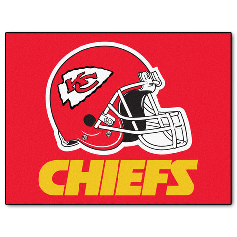 Chiefs All-Star Mat for Kansas City Chief NFL Football Fans