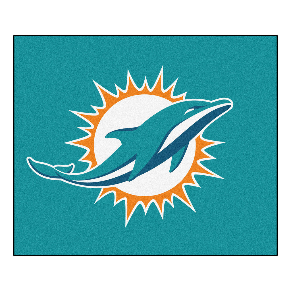 "Tailgater Area Rug (60""x72"") - Miami Dolphins"