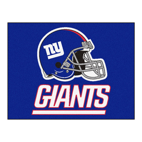 Giants All-Star Mat for New York Giant NFL Football Fans