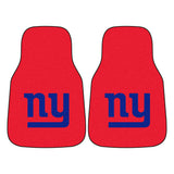 New York Giants Car Floor Mat 2 Piece Set by FanMats