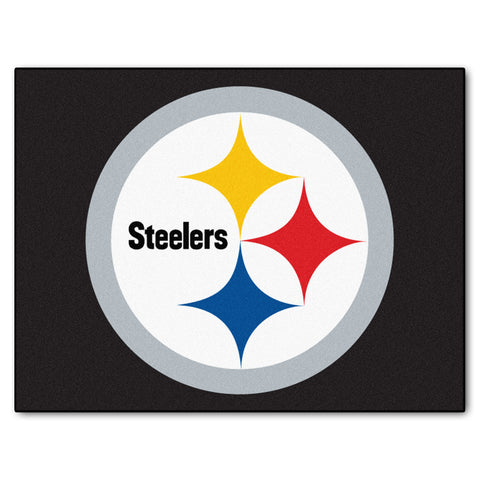 Steelers All-Star Mat for Pittsburgh Steeler NFL Football Fans