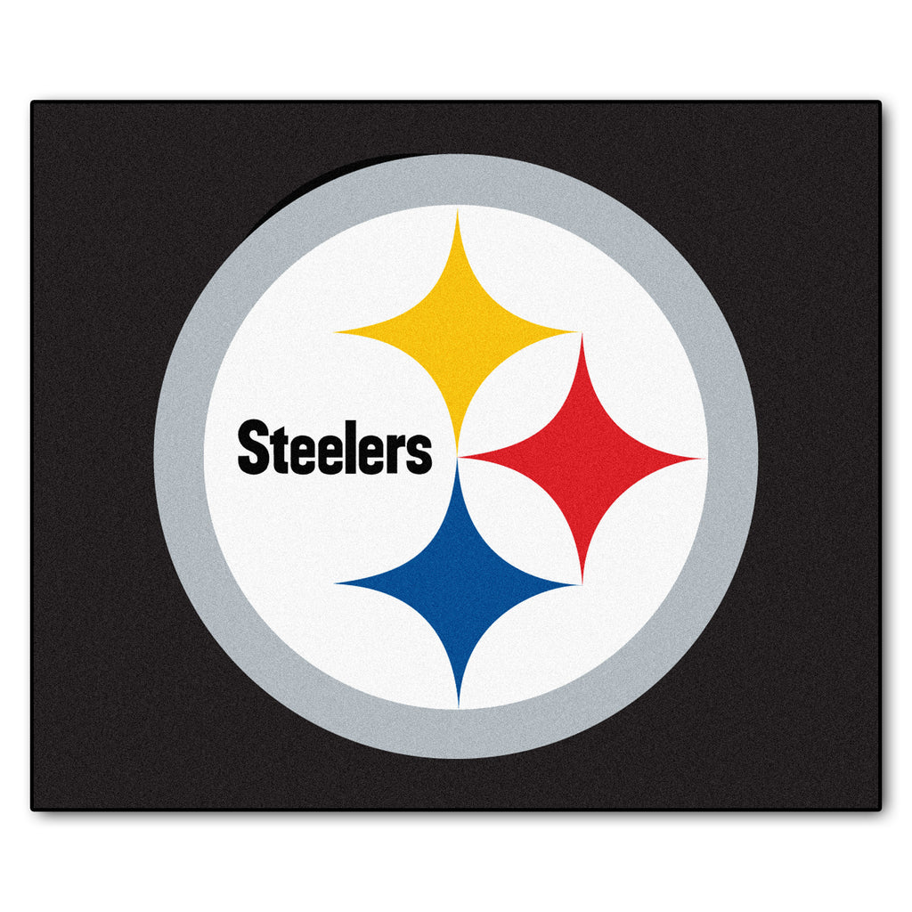 "Tailgater Area Rug (60""x72"") - Pittsburgh Steelers"
