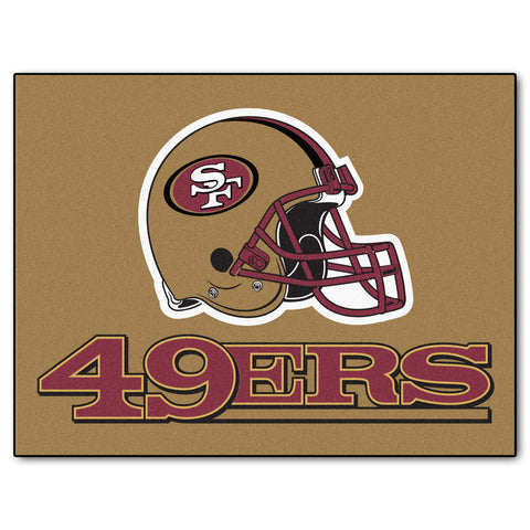 49ers All-Star Mat for San Francisco 49er NFL Football Fans