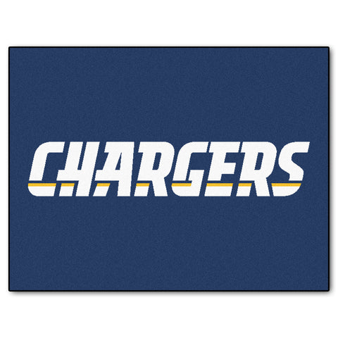 Chargers All-Star Mat for San Diego Charger NFL Football Fans