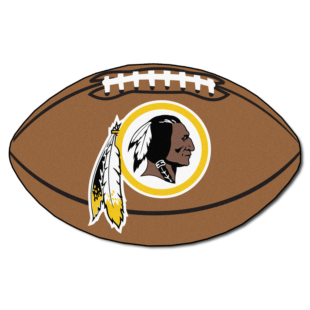 "Football Rug (22"" x 35"") - Washington Redskins"