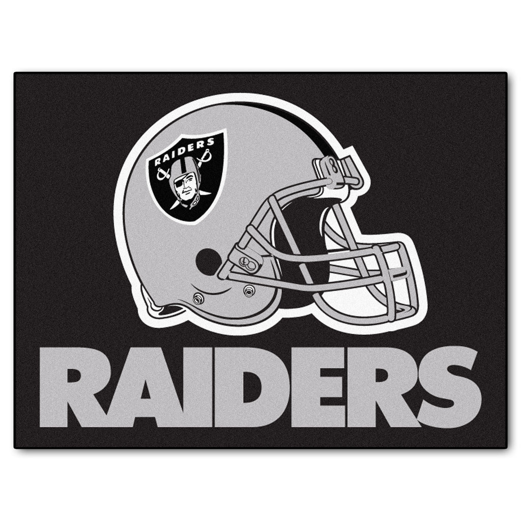 Raiders All-Star Mat for Oakland Raider NFL Football Fans