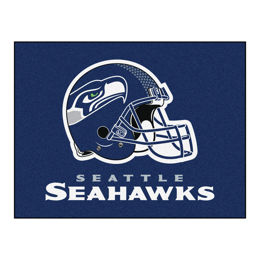 Seahawks All-Star Mat for Seattle Seahawk NFL Football Fans